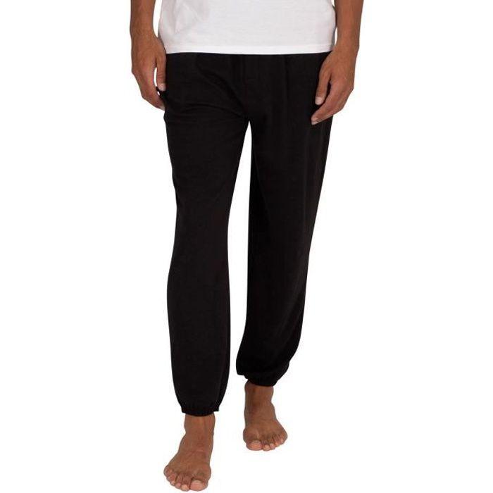 Calvin Klein Pour des hommes Pantalon de jogging Lounge CK One, Noir
