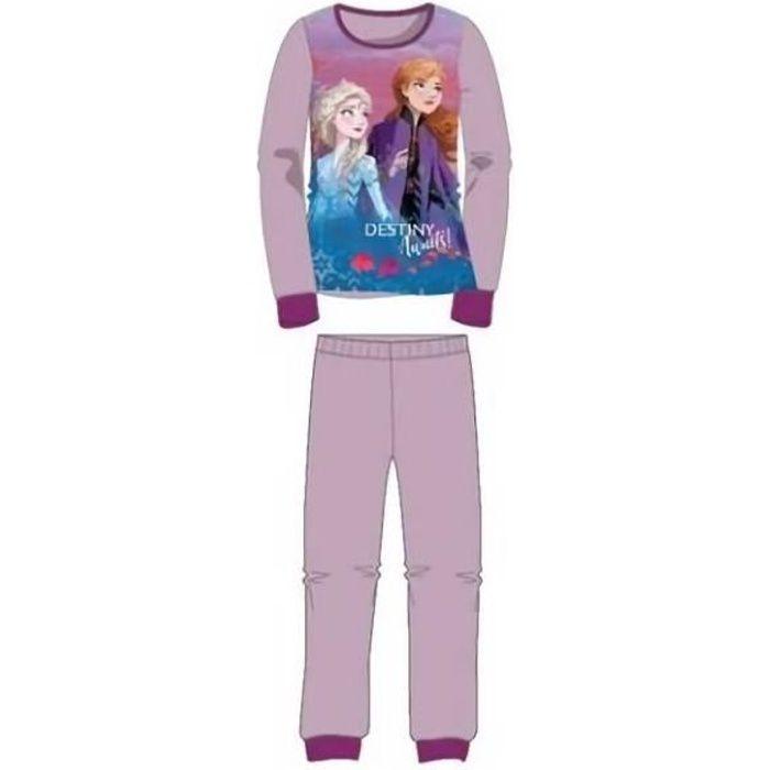 Pyjama La reine des Neiges 2 Disney en coton vendu à l'unité