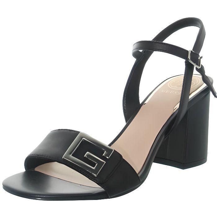 Sandales talon Guess ref 48243 noir