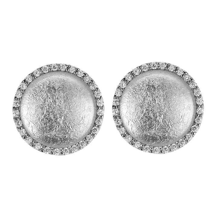 ORPHELIA SILVER Puce d'oreille pour Femmes en Argent sterling 925 -ZO-5201