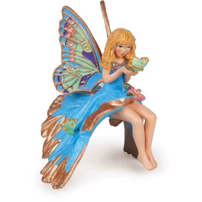 PAPO Figurine Enfant elfe Bleue Pour Enfant