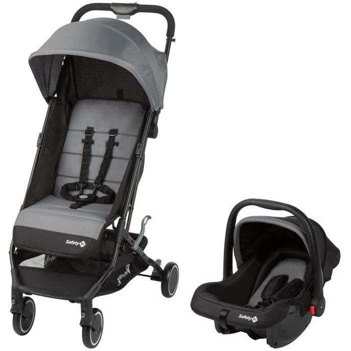 SAFETY FIRST Poussette Soko 2 En 1 Black Grey