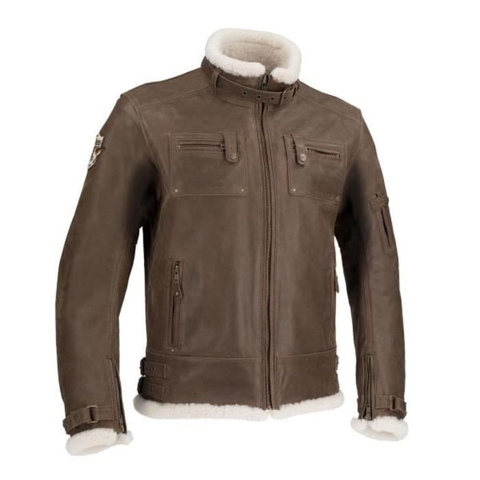 SEGURA Veste de moto Patriot - Marron
