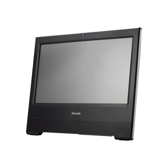 SHUTTLE Ordinateur Tout-en-un POS X506 - Celeron 3865U - 1.8 GHz ULV - RAM 4 Go - SSD 60 Go - HD Graphics