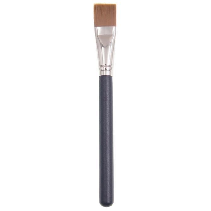 Professionnel Brosse de Masque pour le Visage Flat Firm Fibre Droite Fondation Liquide Pinceau de Maquillage CrèMe Outil de Beauté