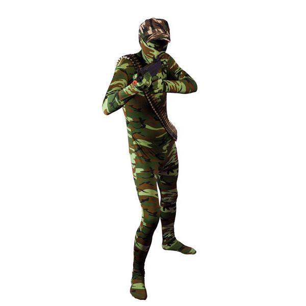 Original Armée Femmes Treillis Veste Camouflage Military Costume Carnaval