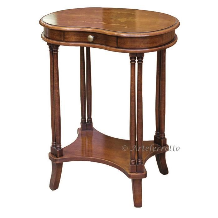 Petite table haricot achat vente table basse petite for Petite table basse but