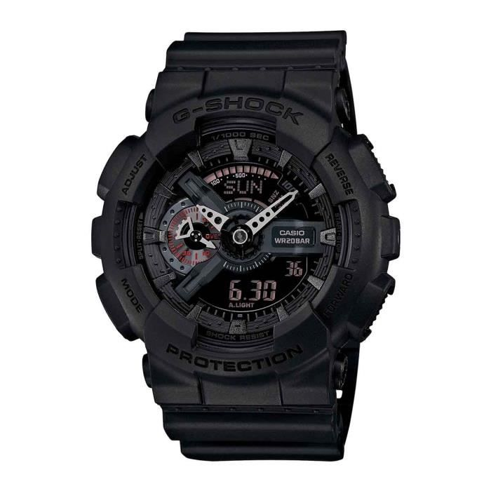 MONTRE OUTDOOR - MONTRE MARINE CASIO Montre G-shock GA-110MB-1AER - Homme - Noir