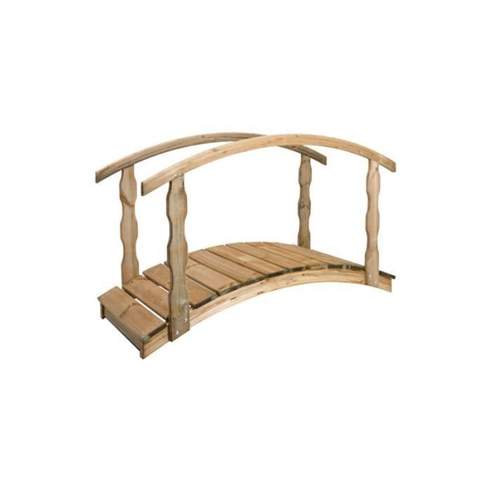 pont en bois 182 cm bridge achat vente bassin d 39 ext rieur pont en bois 182 cm bridge cdiscount. Black Bedroom Furniture Sets. Home Design Ideas