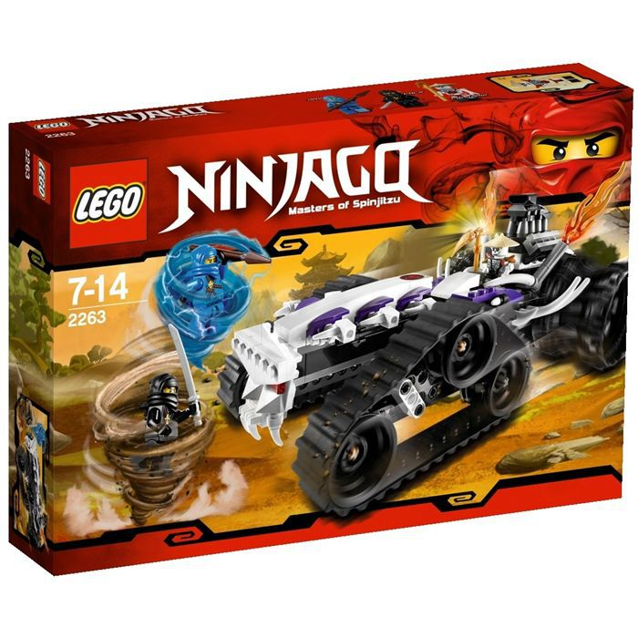 assemblage construction lego ninjago le dragster squelette