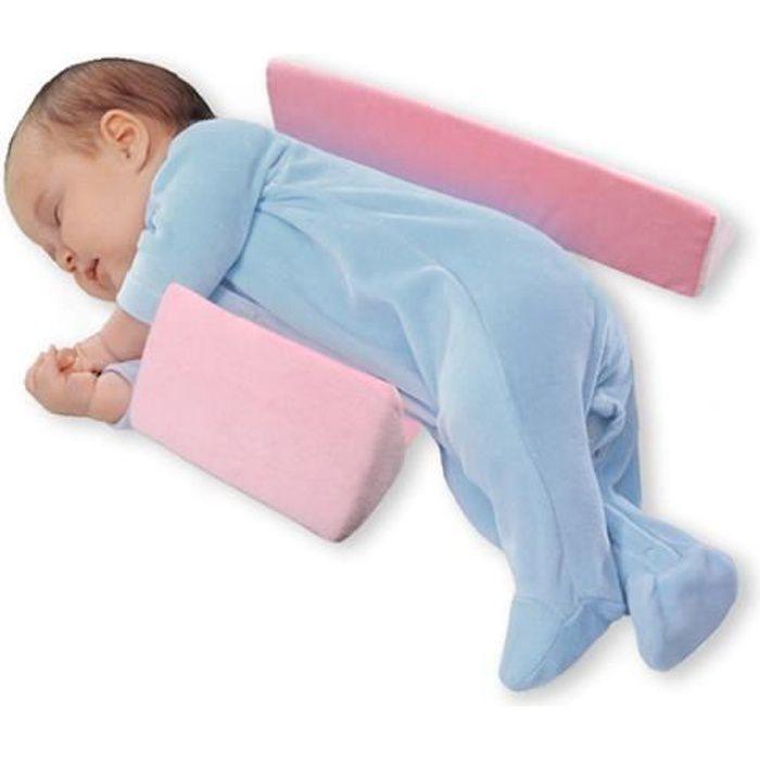 Mousse à Mémoire de forme bébé sommeil oreiller cale bébé Coussin de support