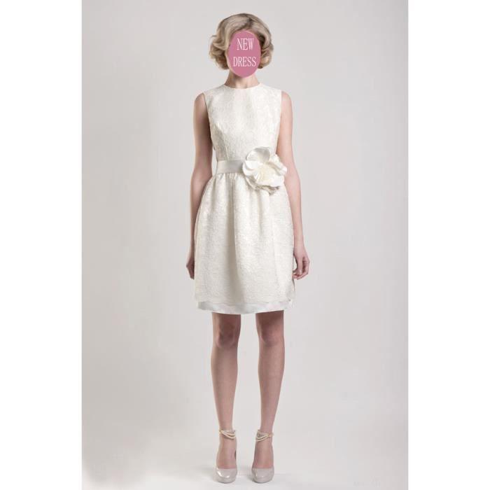 Robes Pas Cher Robe Mariee Robe Pour Mariage Blanc Achat Vente Robe De Ceremonie Soldes Cdiscount
