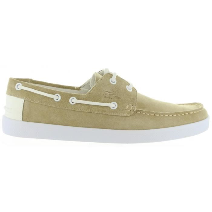 Chaussures bateau pour Homme LACOSTE 33CAM1010 KEELLSON A75 NATURAL gHMbluy