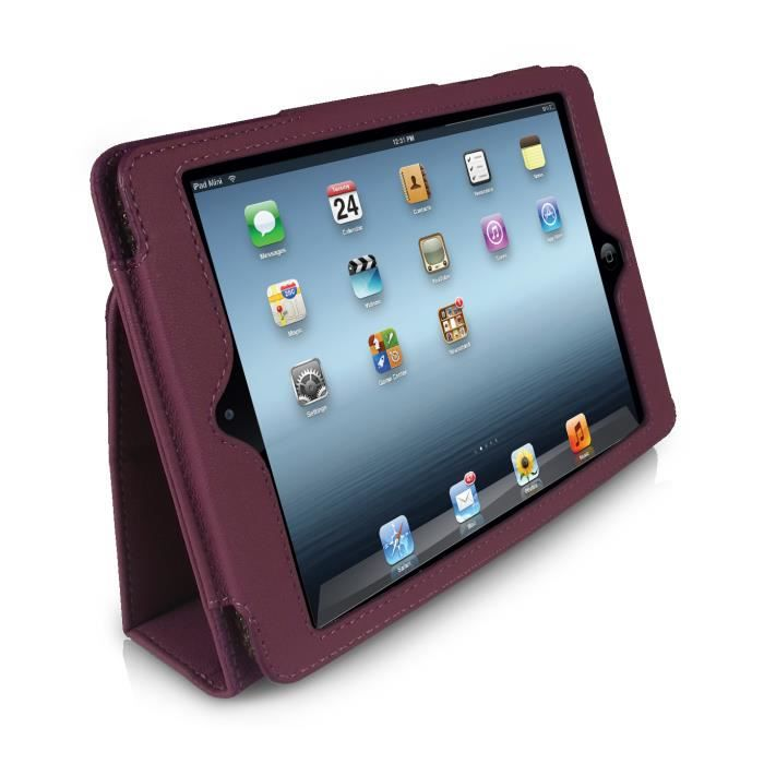 orzly etui stand type ipad mini mini2 violet prix pas cher cdiscount. Black Bedroom Furniture Sets. Home Design Ideas