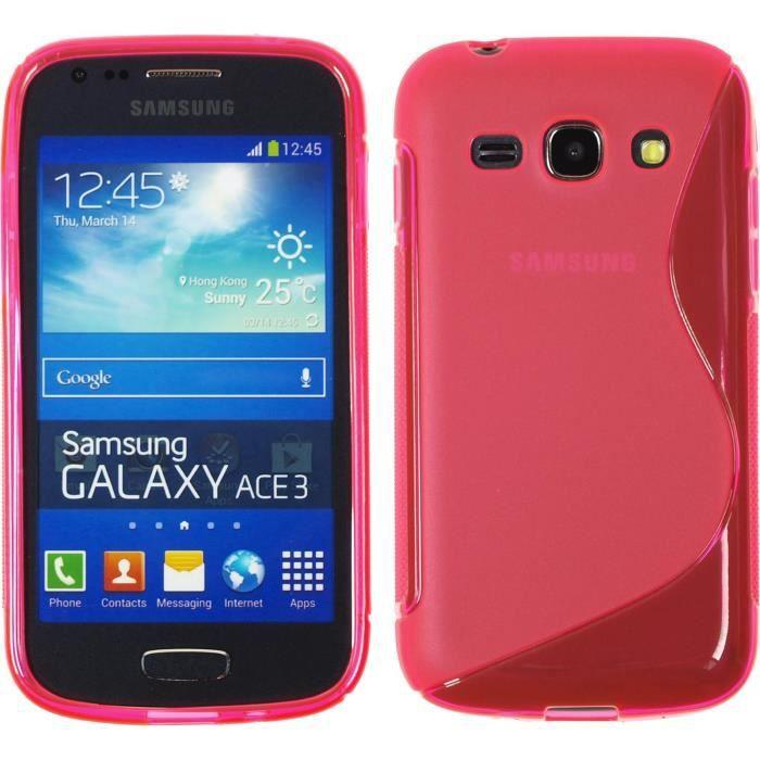 Coque en Silicone pour Samsung Galaxy Ace 3 - S-St