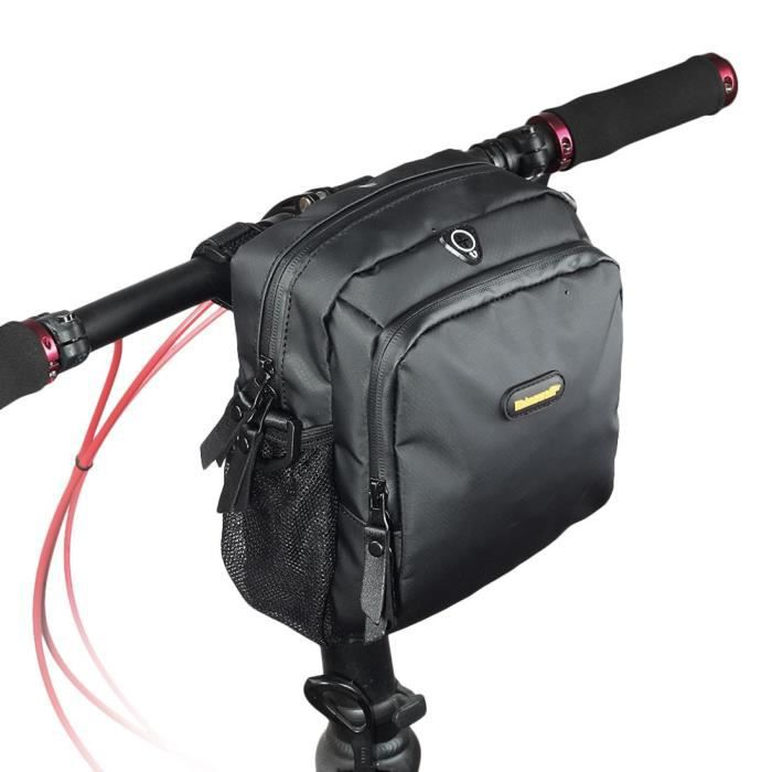 PORTE-BAGAGES VÉLO RHINOWALK 4L Sac de guidon de bicyclette Sac de ve