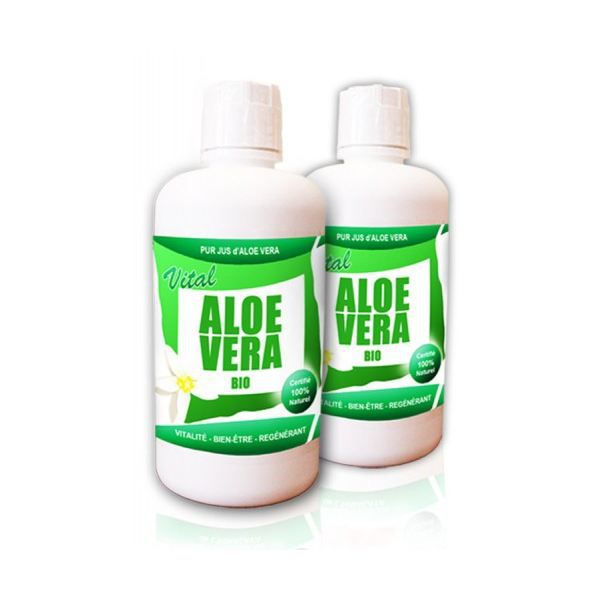 pur jus d 39 aloe vera 100 bio achat vente soin sp cifique corps visage vital aloe vera le. Black Bedroom Furniture Sets. Home Design Ideas