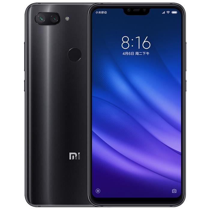 SMARTPHONE Xiaomi Mi 8 Lite Noir 128Go