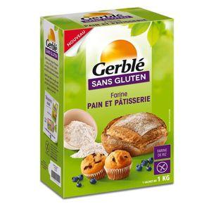FARINE - FÉCULE GERBLE Farine Pain et Pâtisserie sans gluten - 1 k