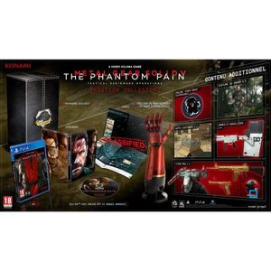 JEU PS4 Metal Gear Solid V : The Phantom Pain Edition Coll