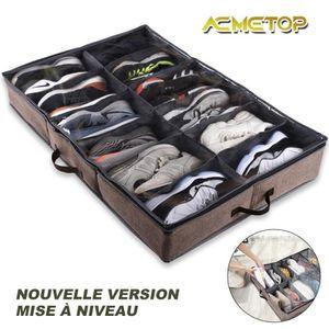 BOITE DE RANGEMENT Boîte Sac de Rangement pour Chaussures/ Talons Hau