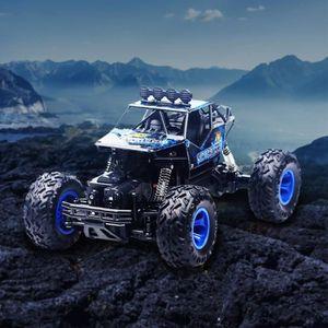 RADIOCOMMANDE Bleu de télécommande de camion de course de voitur