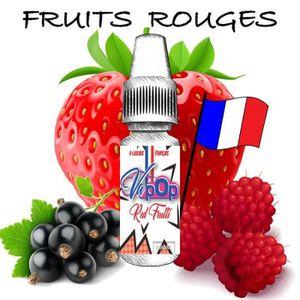 LIQUIDE E-liquide-6mg/mL-Saveur Fruits Rouges-Red Frutti-1