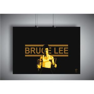 AFFICHE - POSTER Poster BRUCE LEE ART OF WING CHUN 05 Wall Art  - A