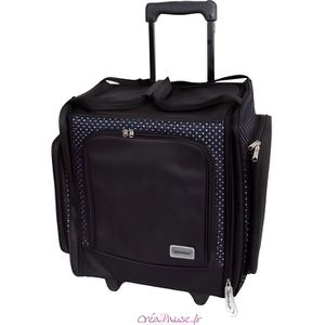 BOITE - MALLETTE Valise trolley Scrapbooking - Papermania Docrafts