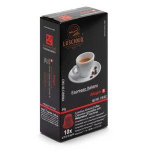 CAFÉ LUSCIOUX Allegro - 100 capsules de café compatible
