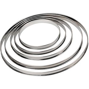 CADRE A PATISSERIE DE BUYER Cercle à tarte - Inox - Ø 26 x H 2 cm - T