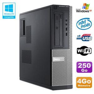 UNITÉ CENTRALE  PC DELL Optiplex 3010 DT Intel G640 2.8Ghz 4Go 250