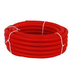 TUYAU - TUBE - FLEXIBLE  DIPRA Tube PER gainé rouge - Diamètre 16 / 25m