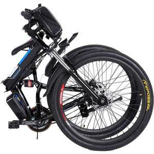 VÉLO ASSISTANCE ÉLEC VTT 26 pouces Vélo électrique de montagne pliable