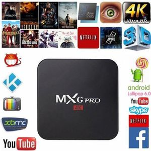 BOX MULTIMEDIA Décodeur multimédias Smart TV Box 4K Android 6.0 M