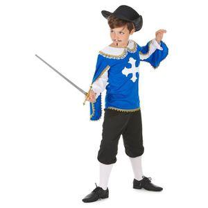 Garçons Mousquetaire Costume Robe Fantaisie Monde Livre Jour 3 mousquetaires Outfit