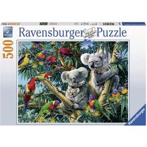PUZZLE RAVENSBURGER Puzzle 500 p - Koalas dans l'arbre