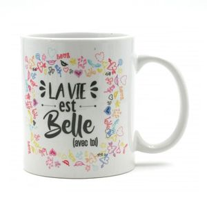 mug love achat vente mug love pas cher soldes d s. Black Bedroom Furniture Sets. Home Design Ideas