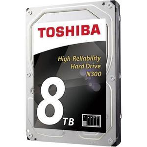 DISQUE DUR INTERNE Toshiba Disque Dur interne NAS N300 3,5'' Bulk - 8