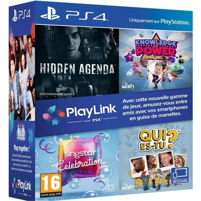 Pack PlayLinkJEU PLAYSTATION 4