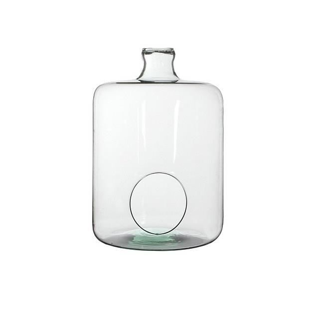 Cloche Miko verre H34xD23.5 - Transparent
