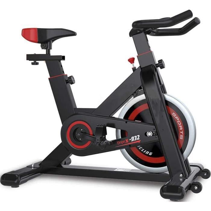 Vélo d'appartement Cardio Spinning Bikes avec Volant d'inertie de 25kg