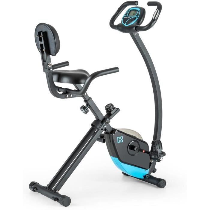 Capital Sports Trajector - V&eacutelo d'appartement Fitness pour Exercices Cardio (si&egravege Confortable avec accoudoirs, 8 28