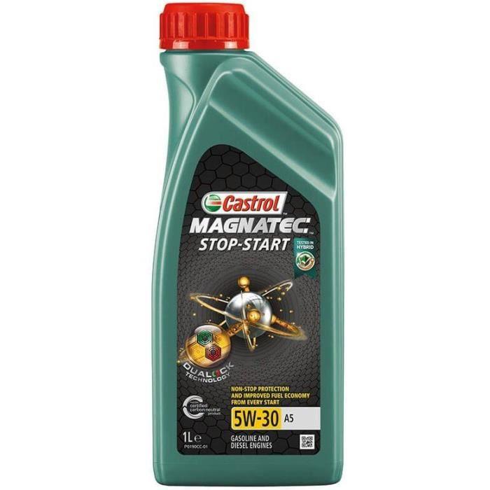 CASTROL Huile de moteur Magnatec S&S 5W-30 A5 1L