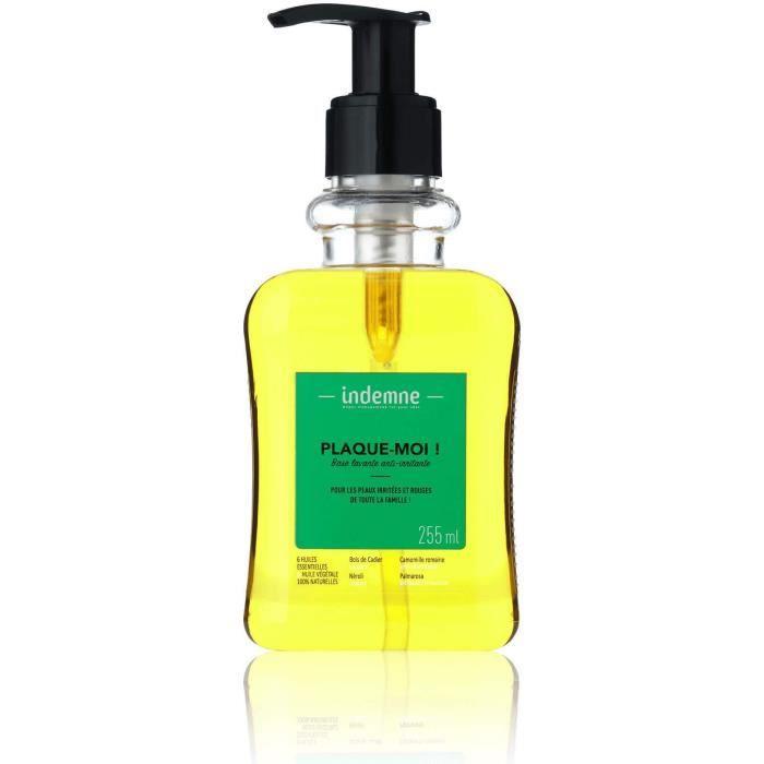PLAQUE-MOI ! Base lavante anti-irritante pour peau sèche, très sèche, sensible et ou à imperfections
