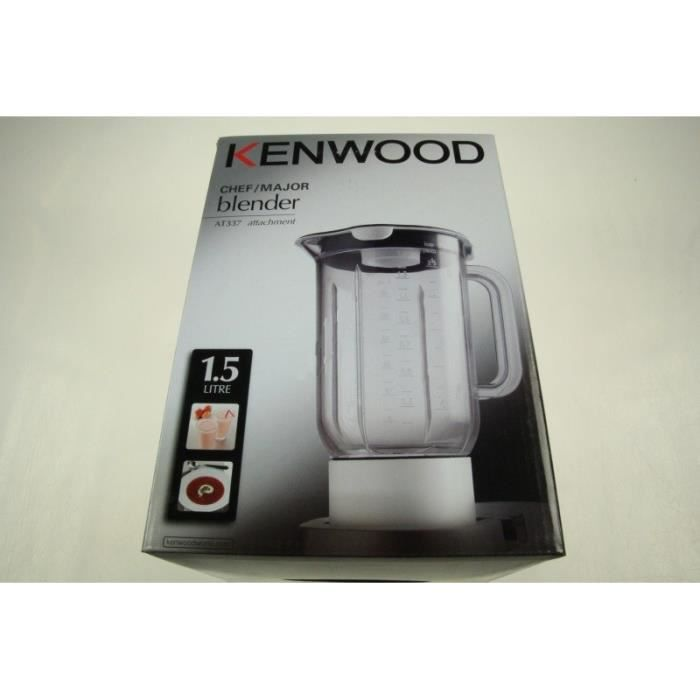 BOL BLENDER ACRYL COMPLET POUR ROBOT MULTIFONCTIONS KENWOOD - BVMPIECES