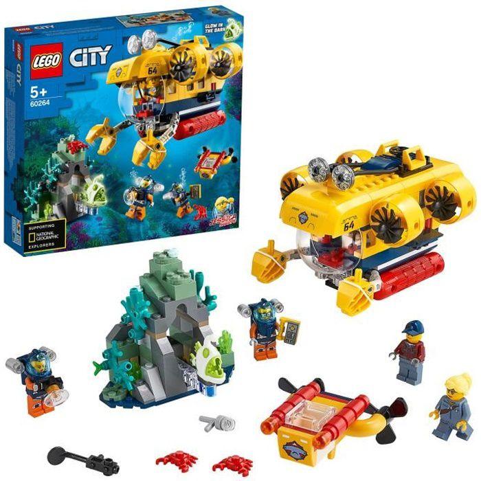 LEGO® City 60264 Le sous-marin d'exploration