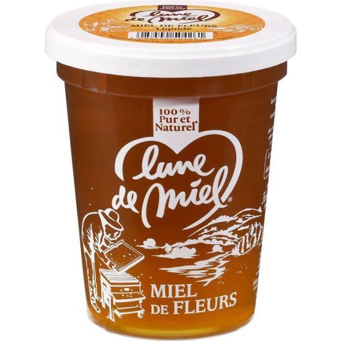LUNE DE MIEL Miel de fleurs - 1 kg