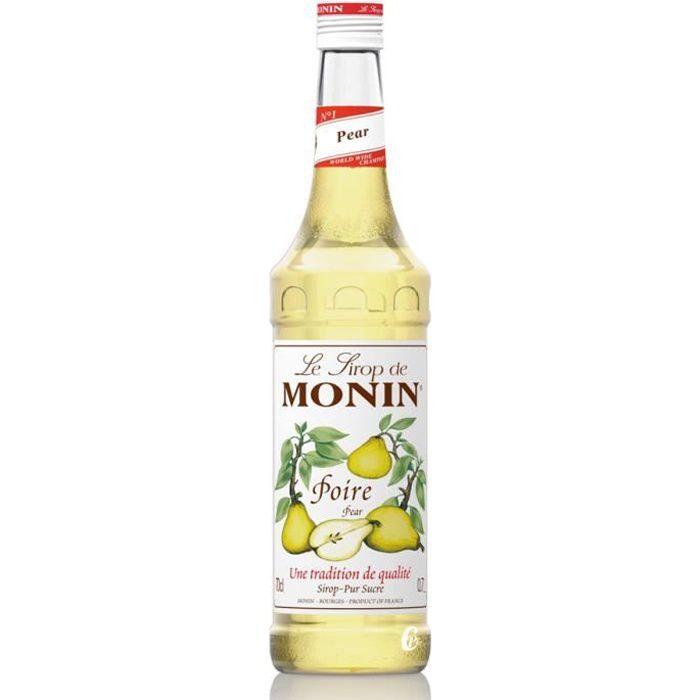 Sirop Monin poire