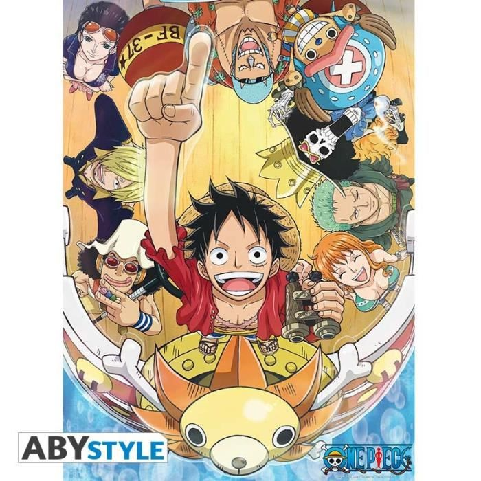 ONE PIECE Poster New World (52 x 38 cm)